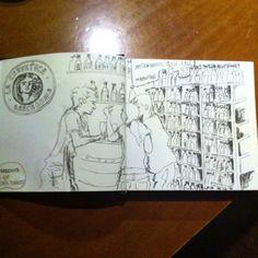 Dibujo cliente de La cerveteca