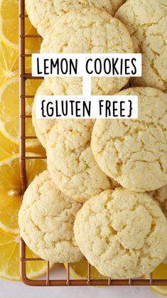 Gluten Free Deserts, Gluten Free Cookie Recipes, Gluten Free Sweets, Foods With Gluten, Gluten Free Cooking, Sans Gluten, Vegan Gluten Free, Easy Gluten Free Cookies, Gluten Free Meals