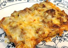 Low Carb Enchilada Bake from Linda Sue's Low Carb