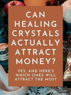"""Want to know how I attracted $10,000 over a 24-hour period? I know what you're thinking: """"there's absolutely no way crystals will do that"""" but if you keep reading, I'll explain how crystals can attract wealth, and which ones you need to start using today to attract money to your life! #crystals #healingcrystals #wealth #loa #lawofattraction Crystals For Wealth, Stones And Crystals, Masculine Energy, Lucky Stone, Attract Money, Financial Success, New Opportunities, Health Advice, Positive Affirmations"""