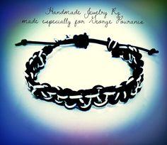 Handmade Jewelry Rg: Men's Bracelet Macrame