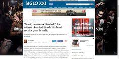"""CRITICA DE LA OBRA ESCRITA PARA LA RADIO """"DIARIO DE UN NOCTÁMBULO"""" DE FRANCISCO UMBRAL"""