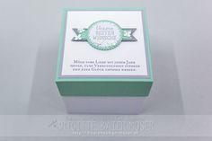 Hochzeitsexplosionsbox, hergestellt von Brigitte Baier-Moser mit Stampin'Up!
