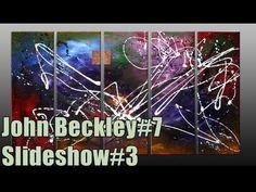 Réalisation d'un tableau abstrait à l'acrylique - Damage par John Beckley - YouTube