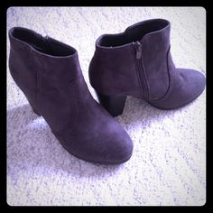 Grey Booties Didn't fit how I wanted, but super cute! Kayla Shoe Shoes Ankle Boots & Booties