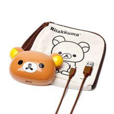 Portable Rilakkuma Battery Chargerリラックマスマートフォン・iPhone