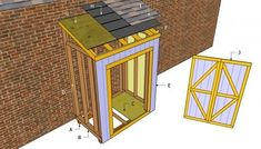 Free Lean To Shed Plans   Free Outdoor Plans - DIY Shed, Wooden Playhouse, Bbq, Woodworking Projects