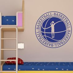 "Style and Apply Basketball II Wall Decal Size: 46"" H x 46"" W, Color: Gold"