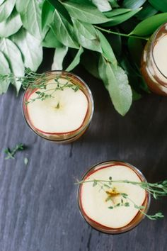 Kathryn McCrary Photography + Project Sip Jenn Gietzen -- a tasty recipe for an Apple Thyme and Whiskey cocktail #recipes #cocktail