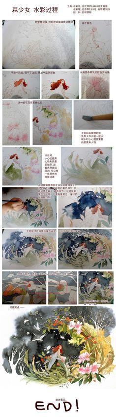 Sleepwalking genuine rabbit Changchun / Painting / illustrator