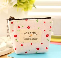 2016 Coin Bag Creative Flower Women Coin Purses Fresh Syle Key Wallets Canvas Girls Gift Wallets Small Purse♦️ B E S T Online Marketplace - SaleVenue ♦️👉🏿 http://www.salevenue.co.uk/products/2016-coin-bag-creative-flower-women-coin-purses-fresh-syle-key-wallets-canvas-girls-gift-wallets-small-purse/ US $0.71