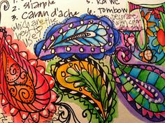 Lots of new pages from Joanne Sharpe...Whimspirations: a whole journal...