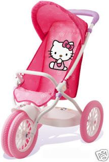 Hello Kitty Stroller for Dolls Hello Kitty Baby, Hello Kitty Items, Sanrio Hello Kitty, Hello Kitty Bedroom, Wonderful Day, Miss Kitty, Hello Kitty Collection, Baby Alive, Pretty Cats