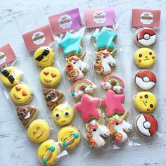 FLASH SALE - Mini packs available for pick up or shipping! Only 5 sets available! $25 -includes 2 emoji, 2 unicorns & 1 Pokemon go packs Flavor: confetti sugar cookie (sprinkles) Shipping: additional-depending on zip code.  Pick up available Friday in Santee.  Please list email, zip code and if shipping is needed.  First come first serve! ***bonus! We have one set of 3 Pokemon Go packs for $15 ***