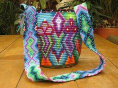 View album on Yandex. Tapestry Bag, Tapestry Crochet, Crochet Yarn, Mochila Crochet, Crochet Purses, Knitted Bags, Crochet Accessories, Handmade Bags, Beading Patterns