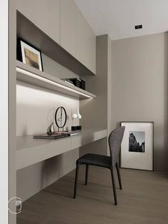 75 Most Favorite Home Workspace Design Inspirations - Proyecto PenHouse - Home Office Small Home Offices, Home Office Space, Home Office Furniture, Home Office Decor, Home Decor, Small Office, Office Ideas, Furniture Ideas, Office Setup