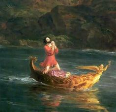 thomas cole - detail from Voyage of Life Series: Middle Age........ever felt like this?