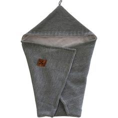 Kidsmill Knitted Badcape Antraciet - Cm
