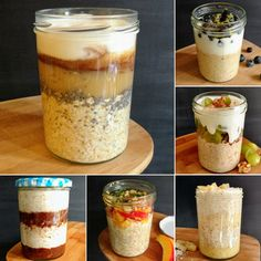 How to Make Overnight Oats in a Jar + Our 6 Best Recipes Step by Step | HurryTheFoodUp