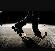 Love freestyle slalom skate!