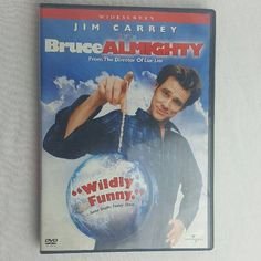 Bruce Almighty DVD Movie 2003 Jim Carrey Jennifer Aniston and