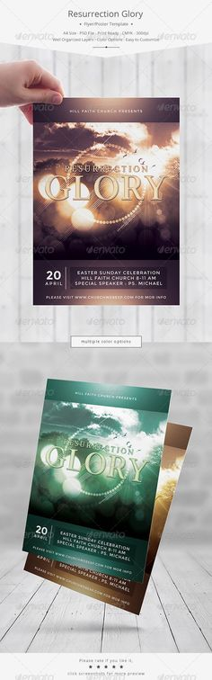 41 Best Church Marketing Flyer/Poster Templates images Church