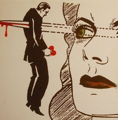 Reads: Pulp fiction - eyes as weapons queen