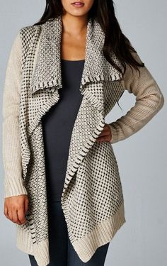 Women's Tops - Heine Wrap Cardigan - EziBuy New Zealand Passion For Fashion, Love Fashion, Womens Fashion, Style Fashion, Cardigan Sweaters For Women, Cardigans For Women, Comfy Sweater, Warm Sweaters, Fall Outfits