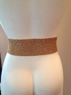 Gold Mesh Belt by TripletVintage on Etsy Vintage Accessories, Belts, Mesh, Gold, Jewelry, Women, Fashion, Jewlery, Moda