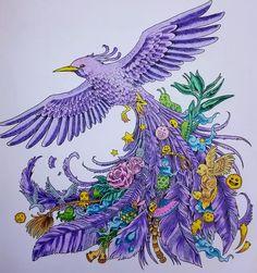 Fait aux crayons de couleurs et estompé à l'essence sans odeur #animorphia.