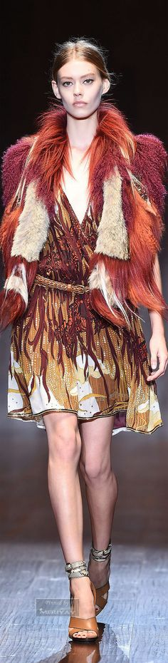 Gucci Spring-Summer 2015 | The House of Beccaria~