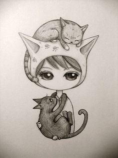I'm no cat lover but this is cute