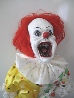 Scary Clown Dolls   Photo by Tim O'Neill