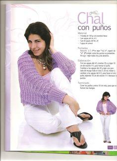 bufanda mangas tejida - Buscar con Google