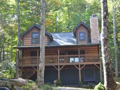 Welcome to TimbeRock, Our new cabin.   Cabin vacation rental in Beech Mountain from VRBO.com! #vacation #rental #travel #vrbo
