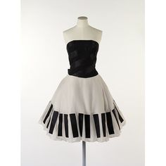 The Piano Dress | Lagerfeld, Karl | V&A Search the Collections