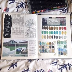 Best gcse art sketchbook ideas inspiration 34 Ideas Michelle F Art Inspo, Kunst Inspo, Sketchbook Inspiration, Sketchbook Ideas, Arte Gcse, Portfolio D'art, Gcse Art Sketchbook, A Level Art Sketchbook Layout, Watercolor Art
