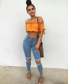 Really nice spring teen fashion . Spring Outfits, Trendy Outfits, Girl Outfits, Cute Outfits, Fashion Outfits, Fashion Trends, Summer Outfit, Trending Fashion, Trendy Dresses