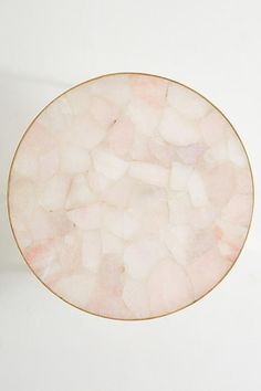 Slide View: 4: Pink Quartz Lirit Coffee Table