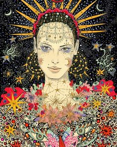 Frida Art, Brindille, Principles Of Art, Hippie Art, Wow Art, Arte Pop, Process Art, Renaissance Art, Psychedelic Art