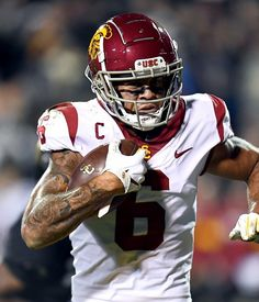 ESPN's Bowen sees as an ideal fit for USC's Michael Pittman Jr. Emmanuel Sanders, Defensive Back, Nba Wallpapers, Usc Trojans, Usa Today Sports, Ideal Fit, Indianapolis Colts, New York Jets, San Francisco 49ers