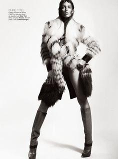 A Wonderful Feeling   Georgina Stojiljkovic   Kevin Sinclair #photography   Vogue Portugal October 2012
