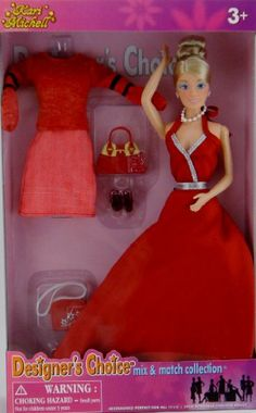 Kari Michell Designer S Choice Fashion Doll With 4 Outfits