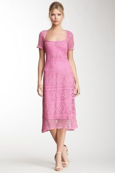 HauteLook   Under $80: Papillon Peasant Neck Cap Sleeve Dress