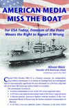 Cover of booklet: American Media Miss the Boat