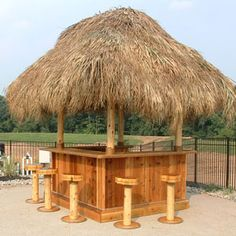 At TikiKev's we offer custom Tiki Bars for sale and will deliver them anywhere in the continental US.