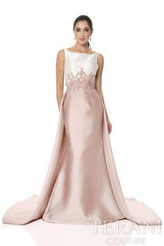 1611E0187 Dress Pesta, Terani Couture, Gown Photos, Elegant Outfit, Formal Gowns, Pageant Dresses, Evening Dresses, Bride Dresses, Groom Dress