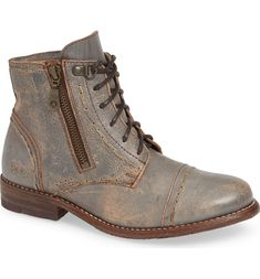 Nordstrom Beauty, Prom Looks, Distressed Leather, Men Looks, Looking For Women, Combat Boots, Taupe, Autumn Fashion, Lace Up