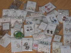 Great Earring Lot- 25 pairs Free and Fast Shipping $15.99