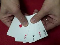 My Favorite Ace Card Trick - Revealed Magic Tricks Videos, Amazing Magic Tricks, Easy Magic Tricks, Card Tricks Revealed, Easy Card Tricks, Ace Card, Learn Magic, Close Up Magic, Sleight Of Hand